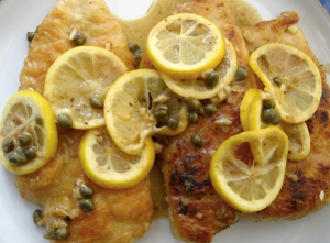 A much more appetizing photo of chicken piccata (http://homecookinginmontana.blogspot.com/2010/04/chicken-picattaquick-dinners-part-1.html)