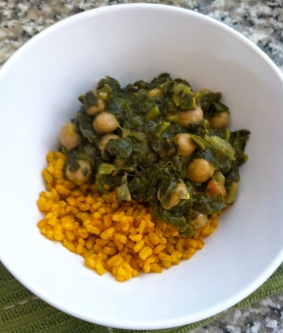 Chana Saag - nevernothungry.com